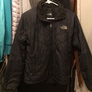THE NORTH FACE Black Puffy Coat